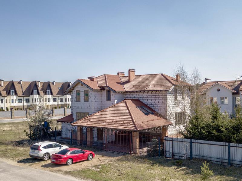 Коттедж с отделкой черновая в Петровский